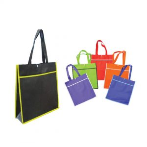 Button Non Woven Bag - NVBMC 1006