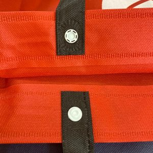 Custom Made Non Woven Bag Button