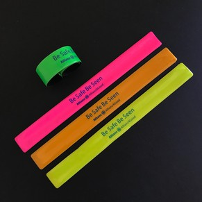 Reflective Slap Wristbands