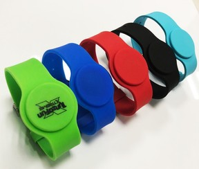 Silicone Watch RFID Band