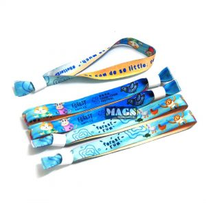 Eco Polyester Fabric Wristbands