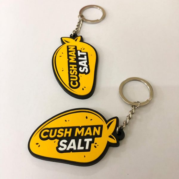rubber keychain printing
