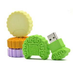 Custom Shape Mooncake USB Drive