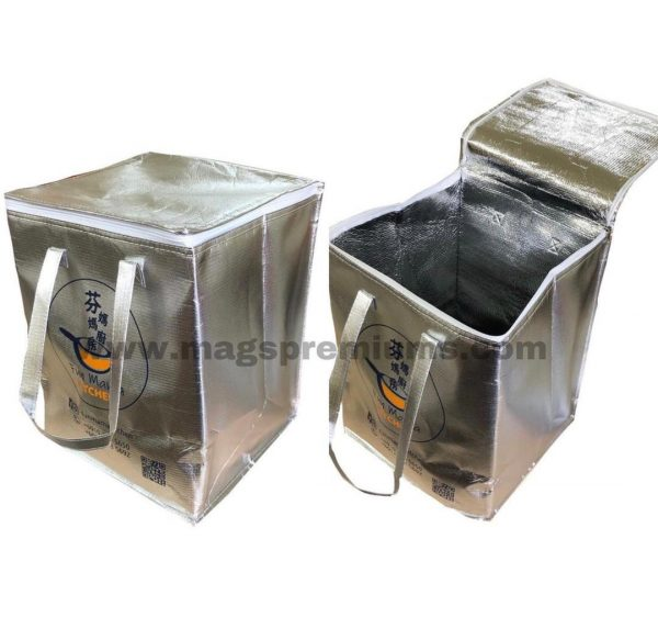 insulated delivery bag printing