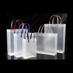 Custom PVC Shopping Bag 1