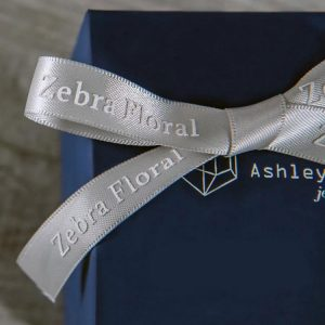 Embossed printing ribbon