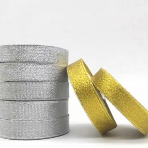 METALLIC GLITTER RIBBON ROLL