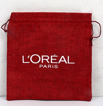 Small Jute Pouches Printing