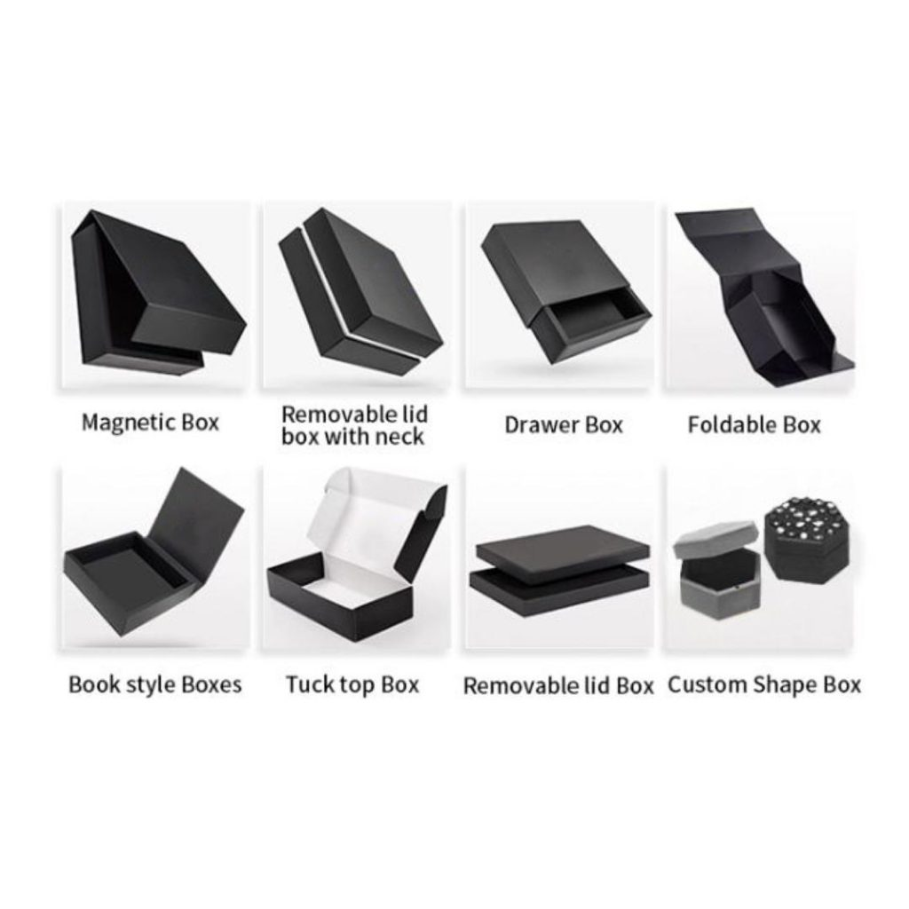 packaging boxes category box type