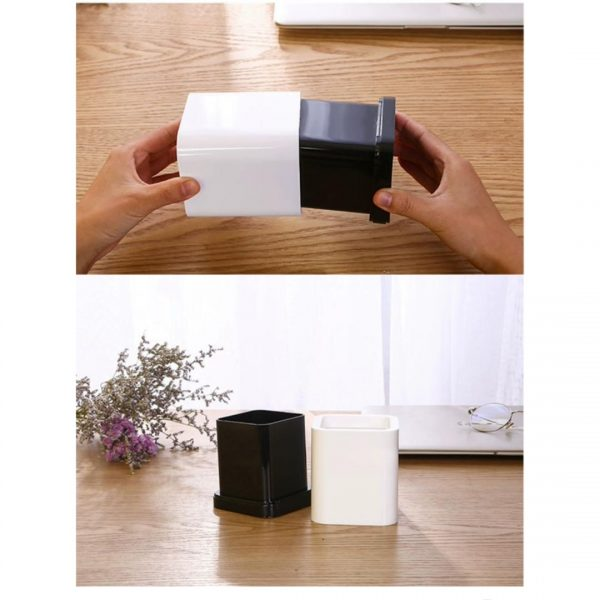 plastic pencil holder 2
