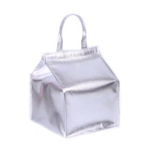Metallic Lunch Bag