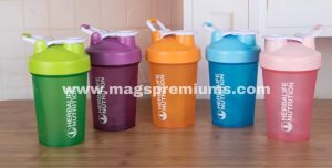 Printed gym protein shaker