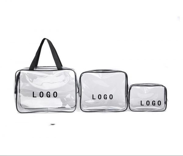 pvc pouch with logo printing