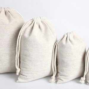 Canvas drawstring pouch printing