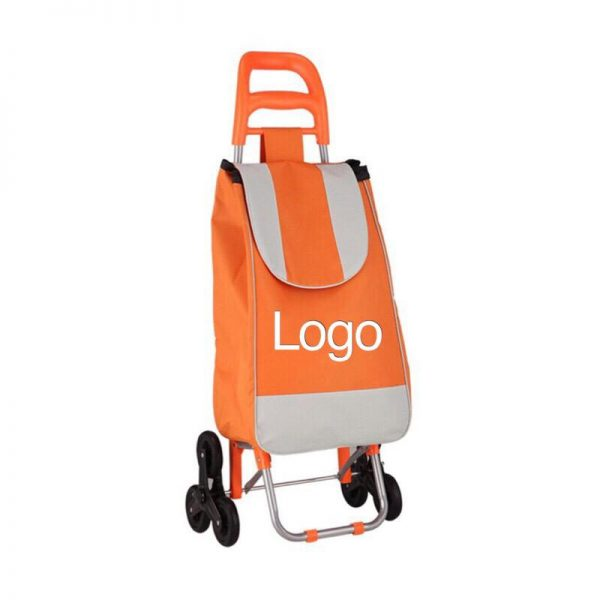 Custom Foldable shopping trolley bag