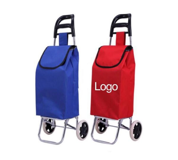 Foldable shopping trolley bag printing