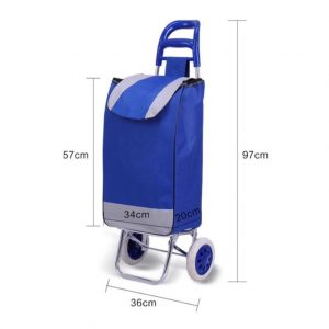 Printed trolley bag