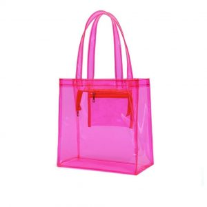 colorful PVC Tote Bag