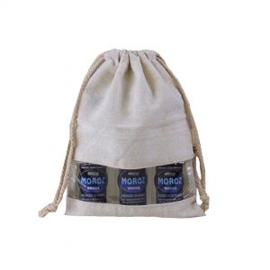Canvas Pouch With PVC Window