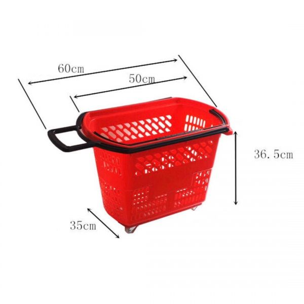 Shopping trolley size