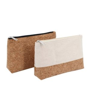 cork zipper pouches