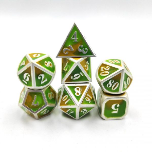 custom metal dice