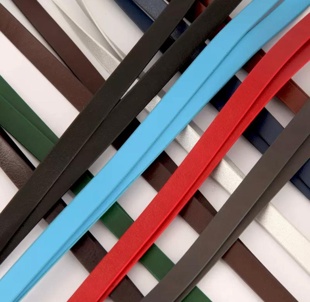 leather lanyard color