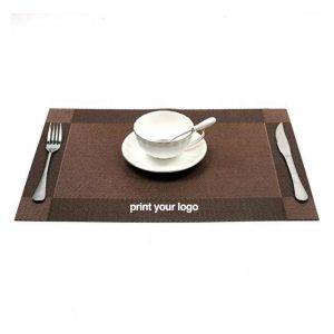 custom printed woven placemat