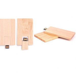 Wooden Credit Card