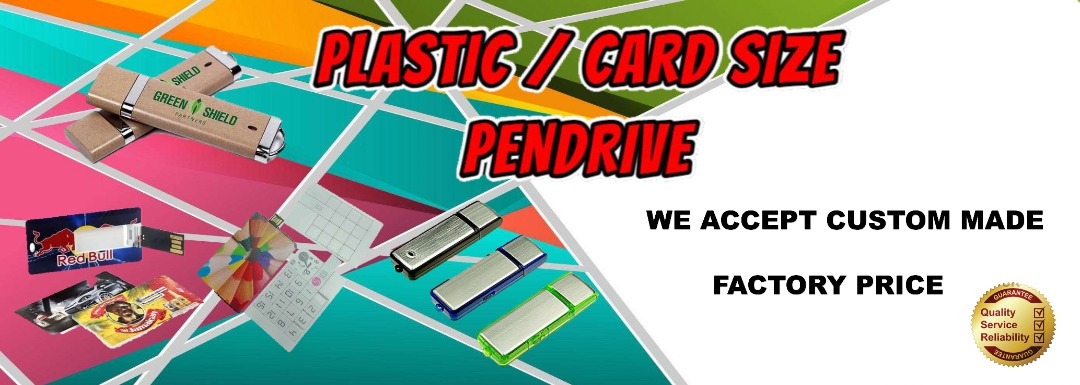 plastic card size banner