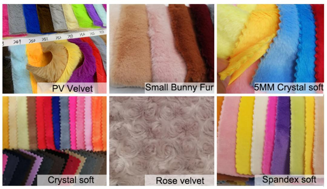 product fabric material soft toys
