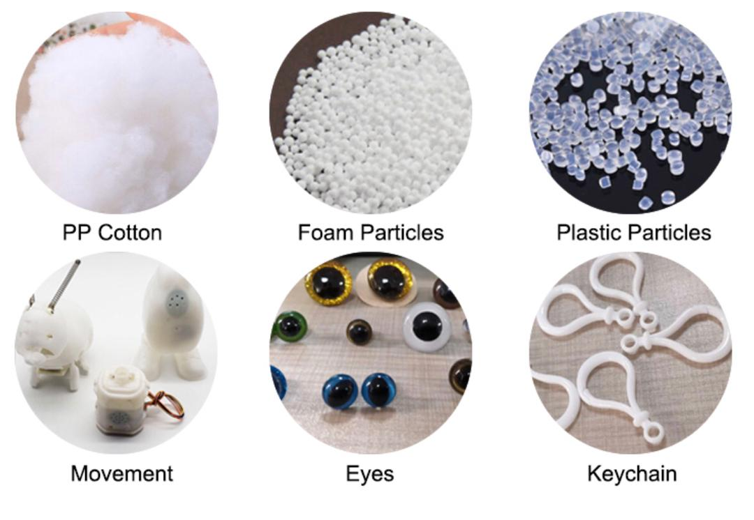 product filling material soft toys